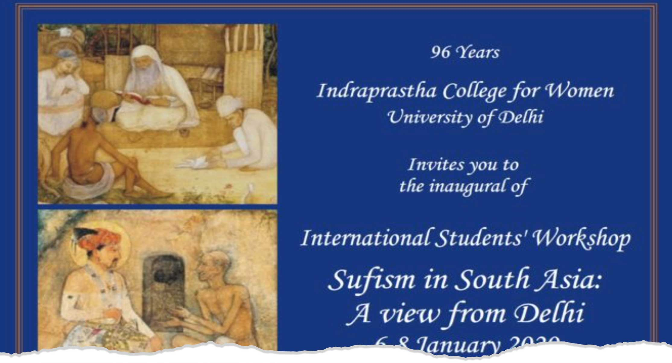 """International students´workshop """"Sufism in South"""